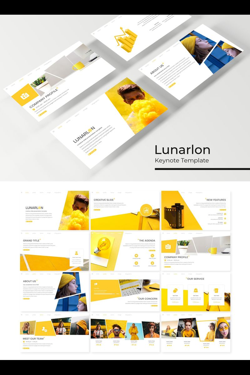 Lunarlon Keynote sablon 89409