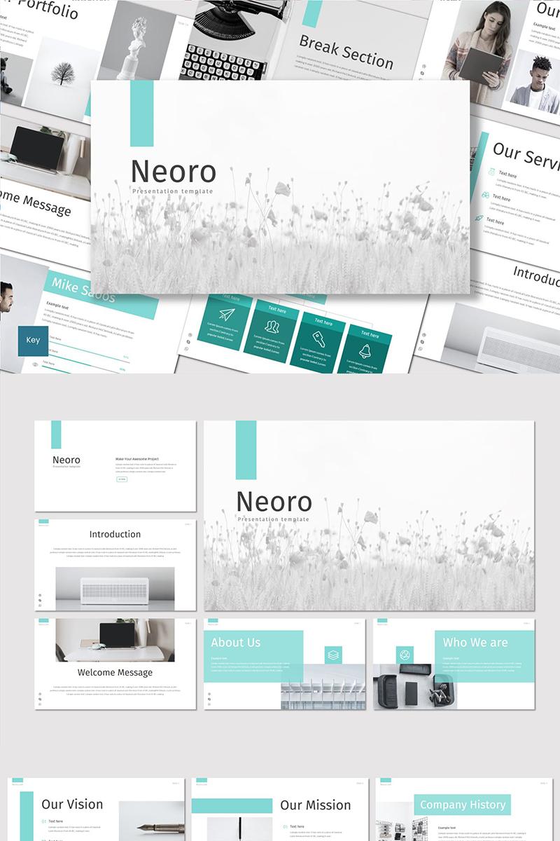 """Plantilla Keynote """"Neoro"""" #89483"""
