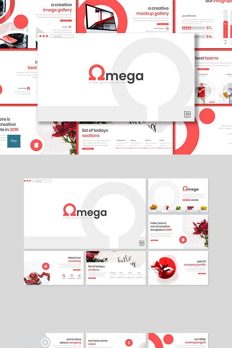 "Plantilla Keynote ""Omega"" #89480"