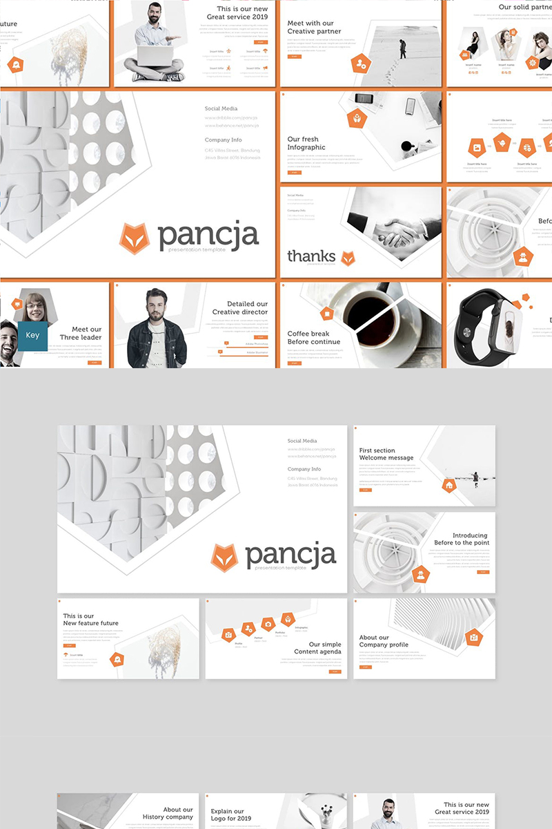 "Plantilla Keynote ""Pancja"" #89477"