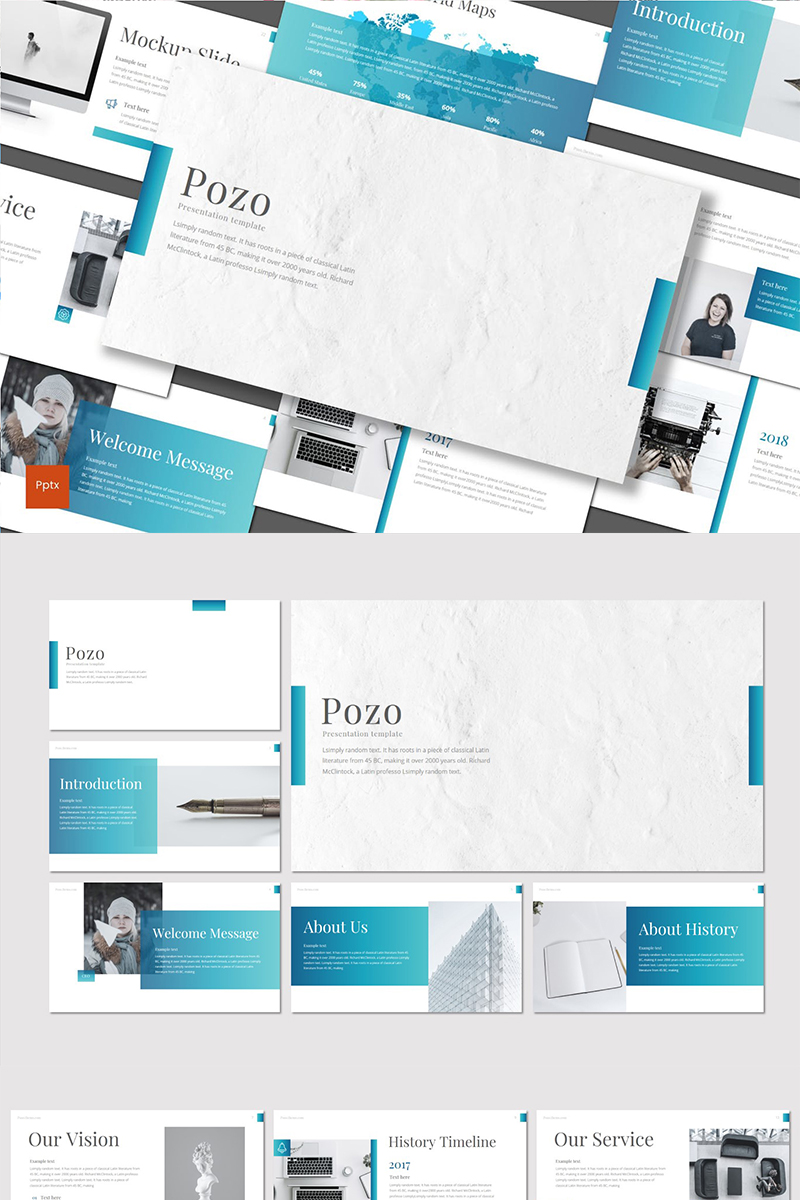 Pozo Template PowerPoint №89442