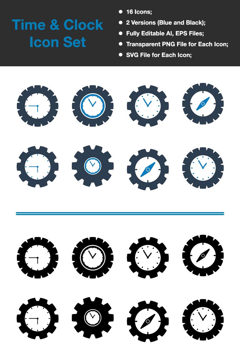 Premium Time & Clock - Premium Vector Iconset-mall #89491