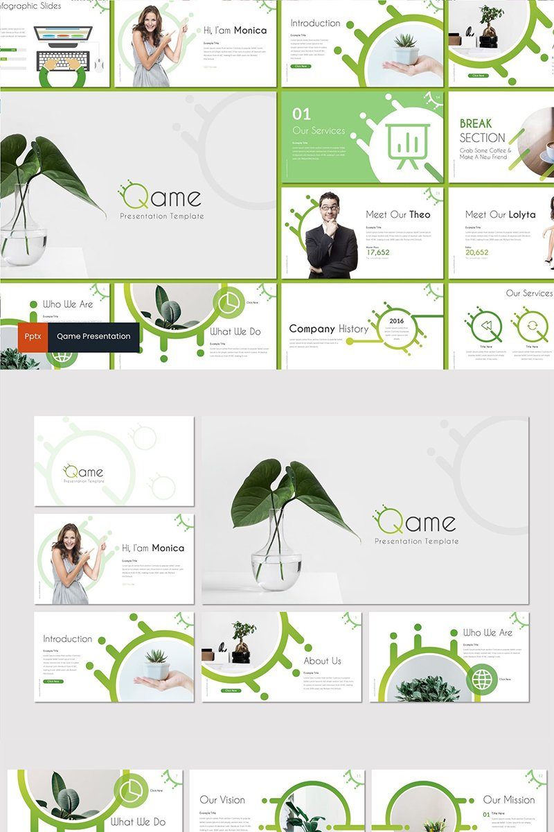 Qame Template PowerPoint №89437