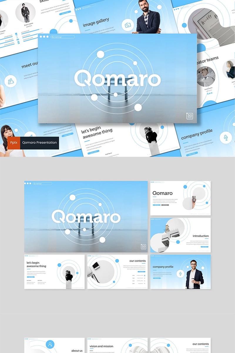 Qomaro Template PowerPoint №89439