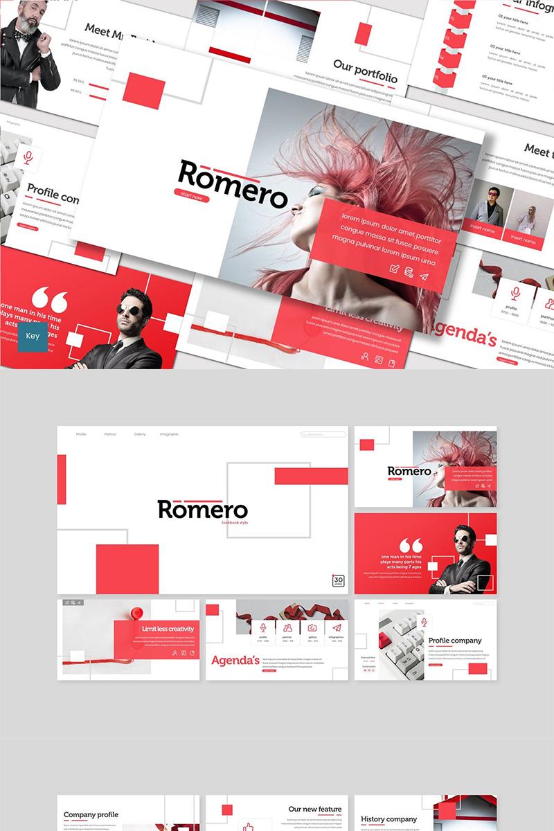 Romero Template para Keynote №89408