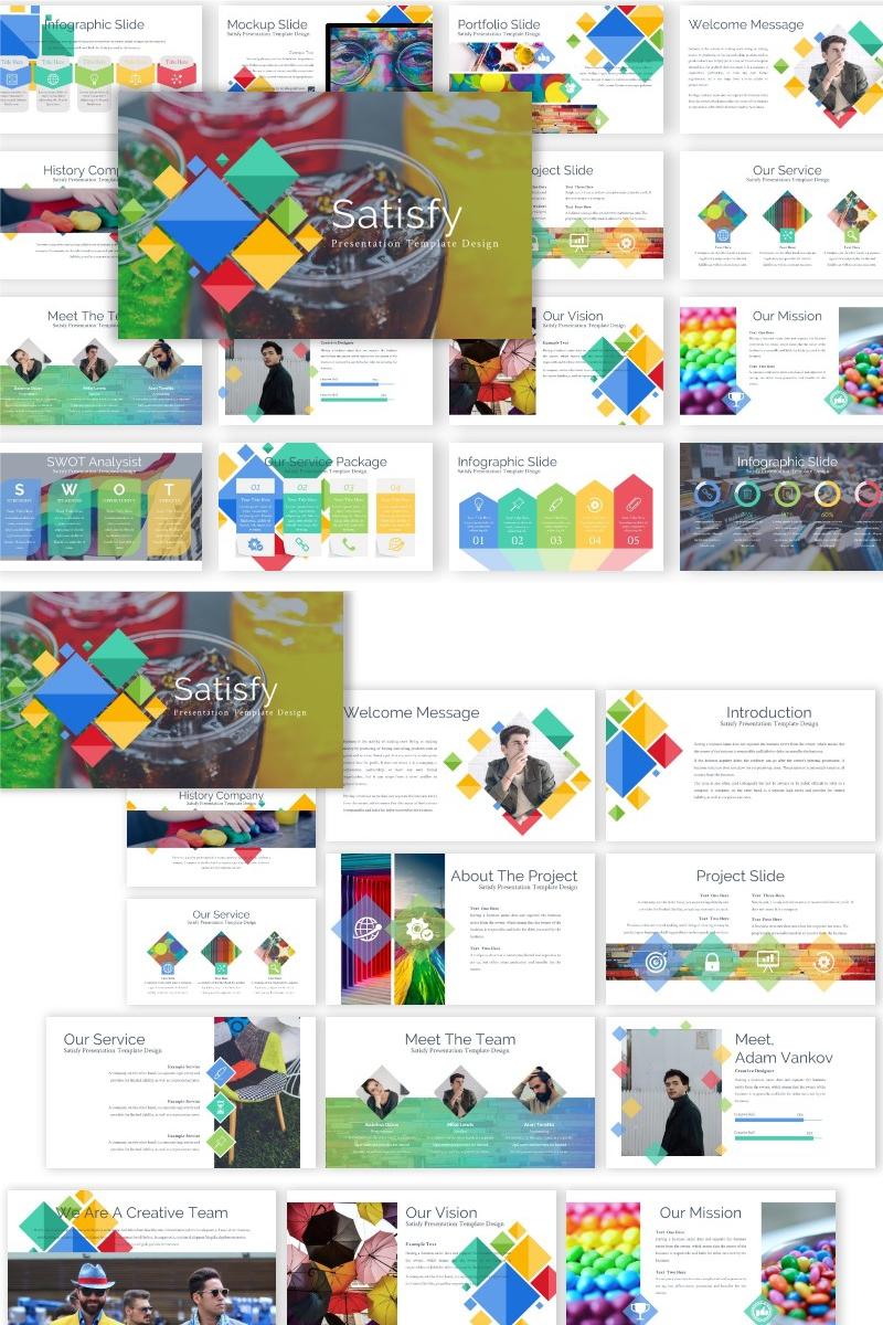 Satisfy Presentation Keynote Template #89474 - skärmbild
