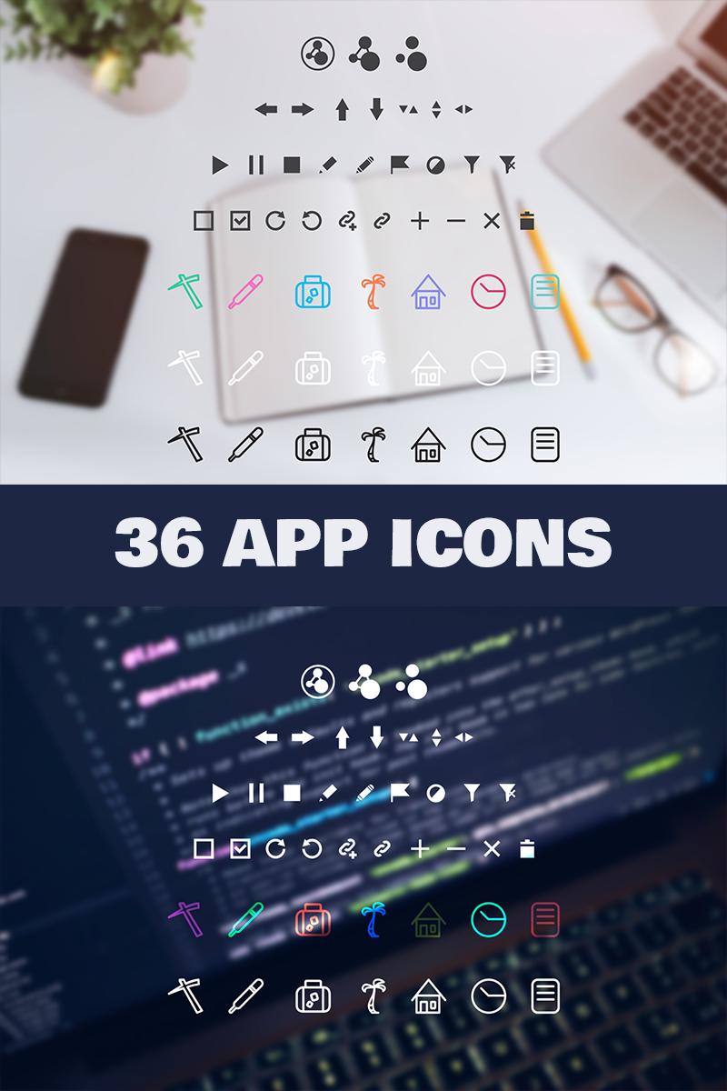 Web App Iconset-mall #89489