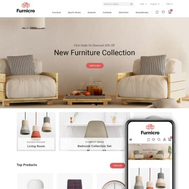 Купить  пофессиональные PrestaShop шаблоны. Купить шаблон #89583 и создать сайт.
