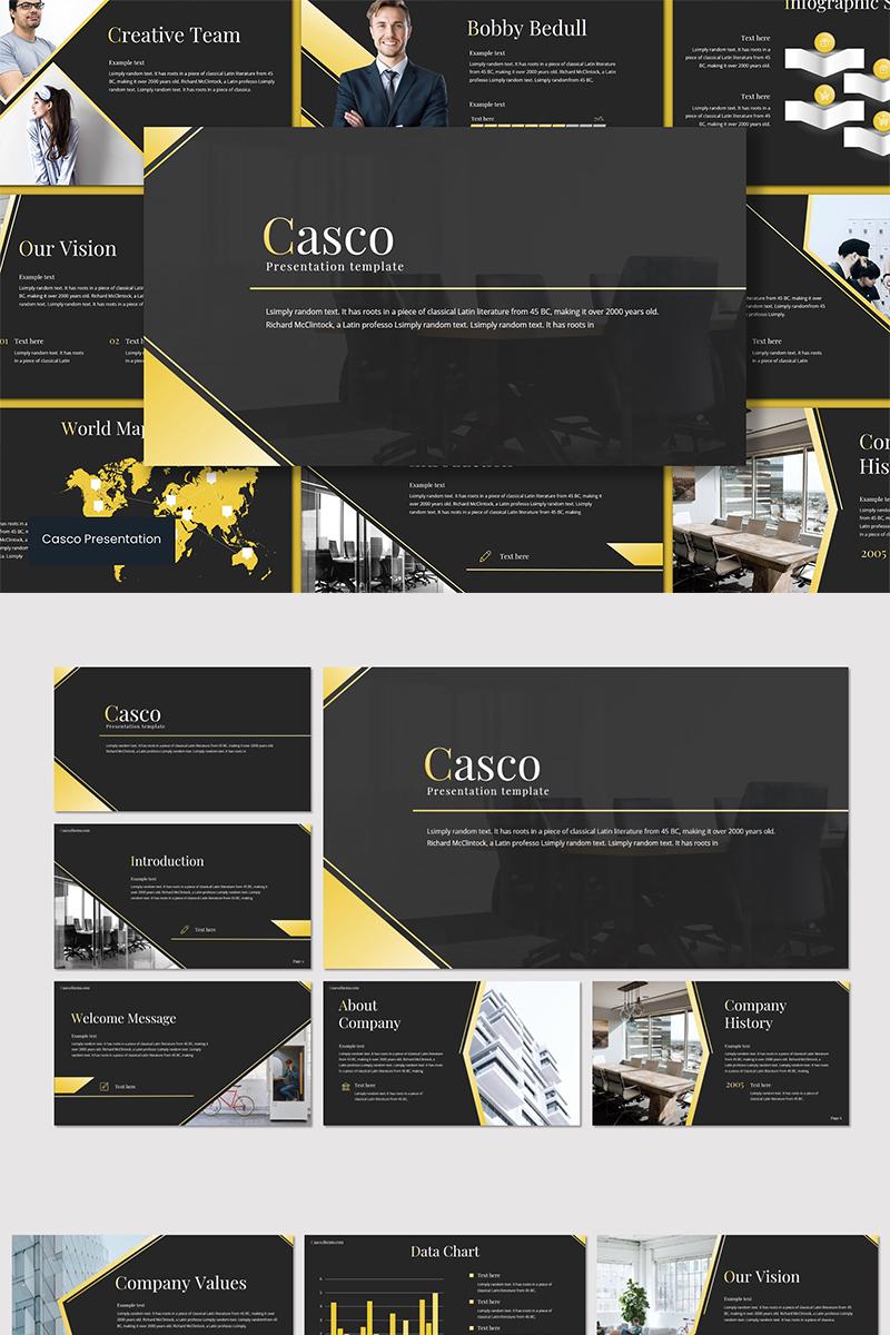 Casco Template para Keynote №89557