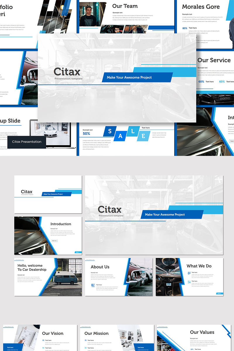Citax Keynote Template #89559