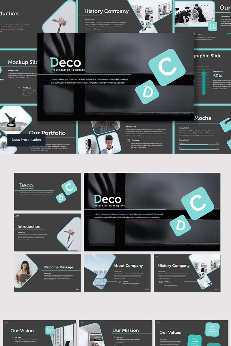 """""""Deco"""" modèle Keynote  #89560"""