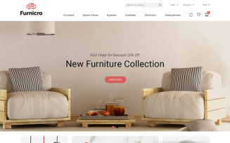 Furnicro - Furniture Shop PrestaShop Theme