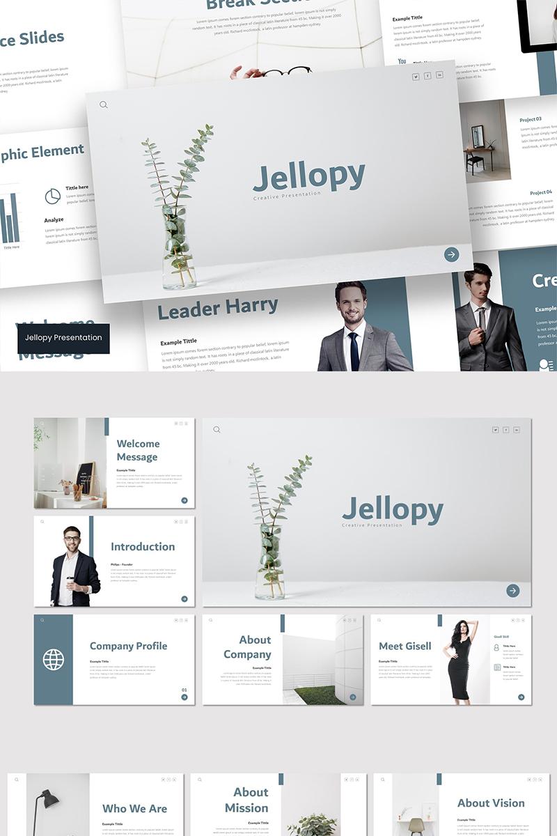 Jellopy Template para Keynote №89543