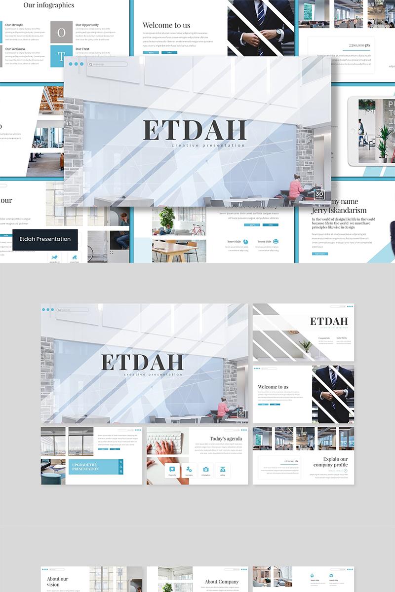 """Keynote Vorlage namens """"Etdah"""" #89550"""