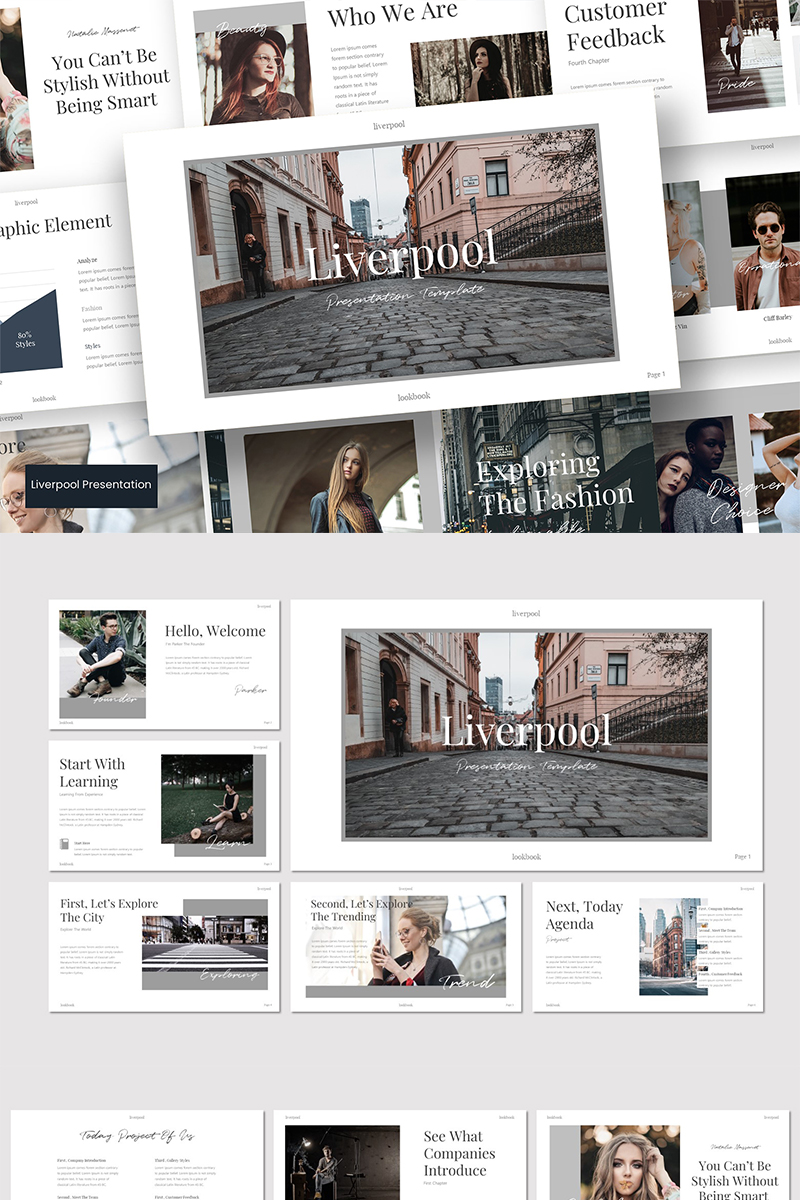 Liverpool Template PowerPoint №89569