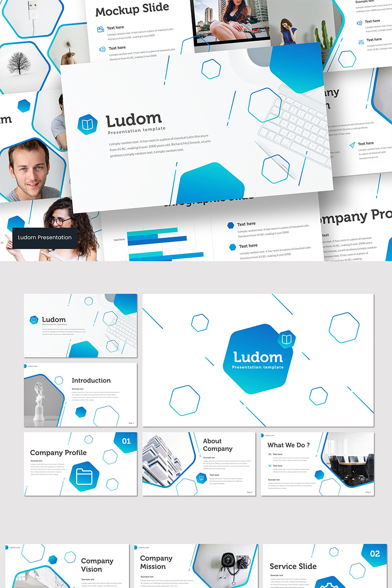 Ludom Template PowerPoint №89570