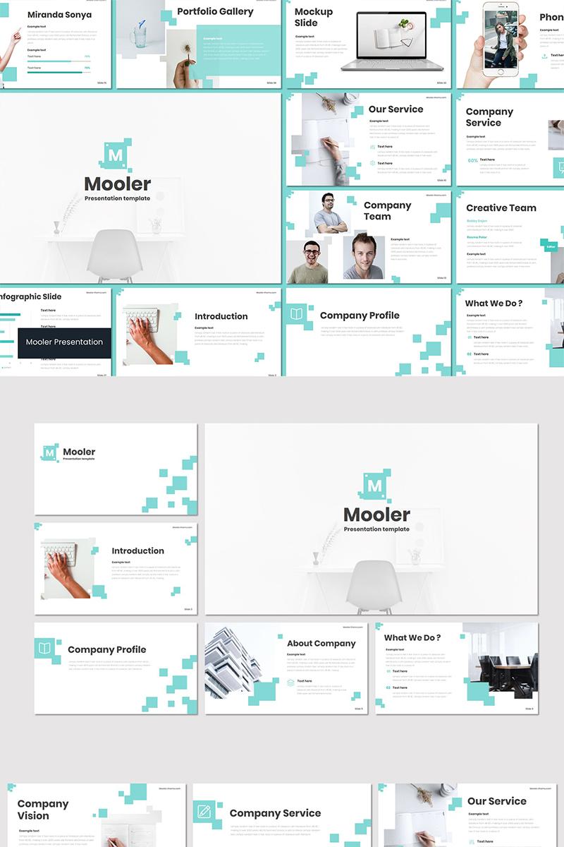 """""""Mooler"""" modèle PowerPoint  #89565"""