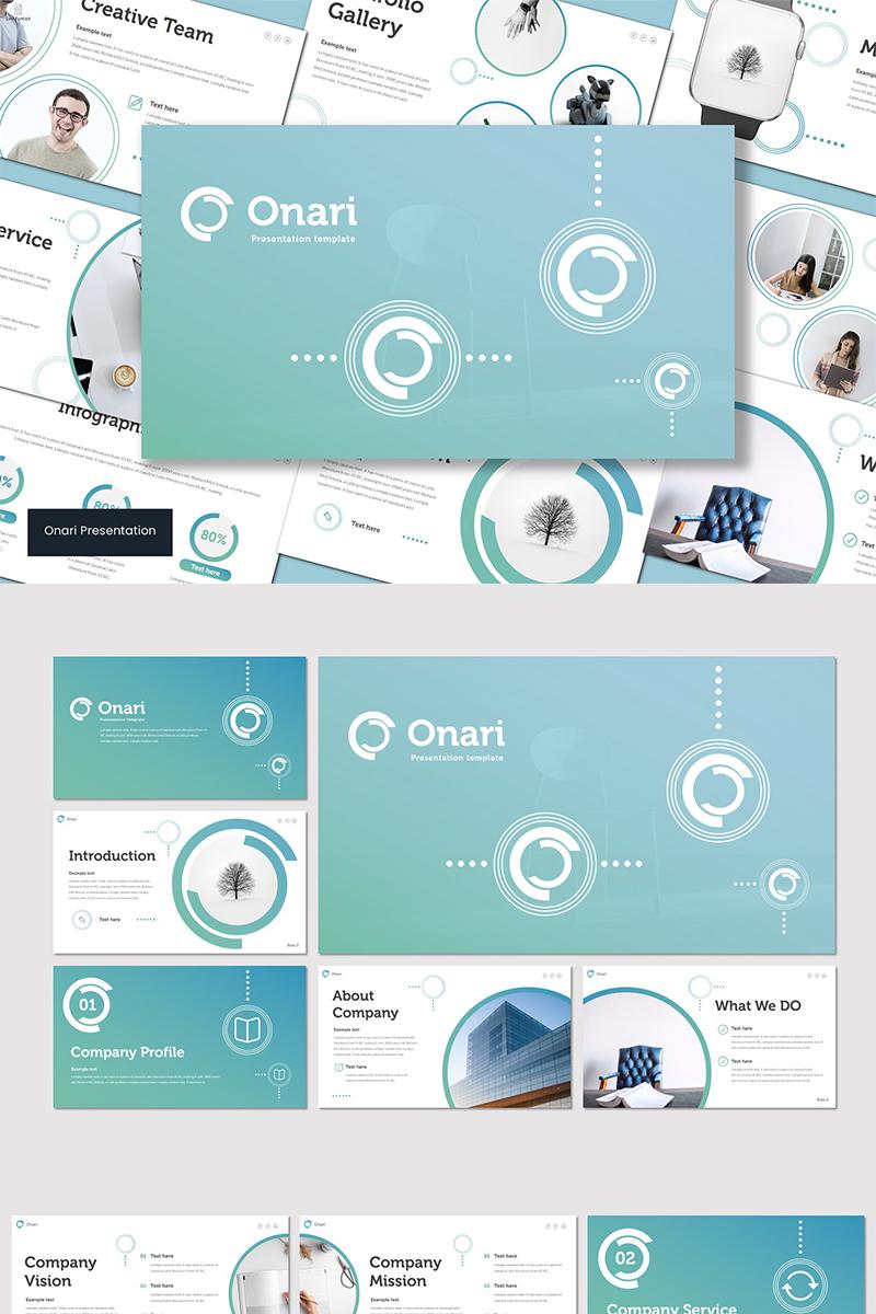 """PowerPoint šablona """"Onari"""" #89564"""