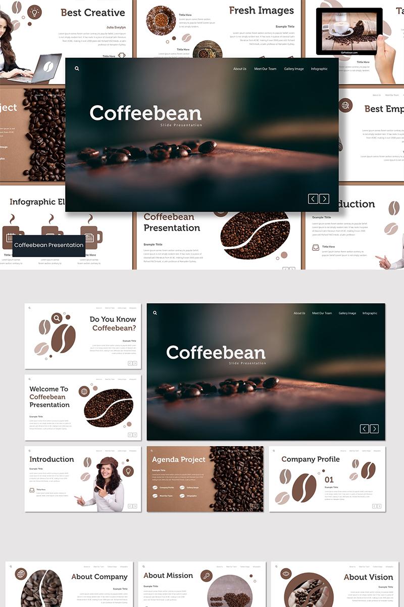 Szablon Keynote Coffebean #89555