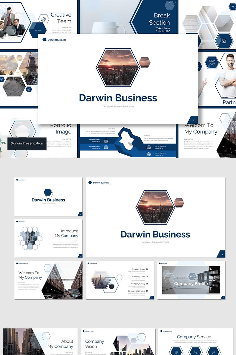 Szablon Keynote Darwin #89556