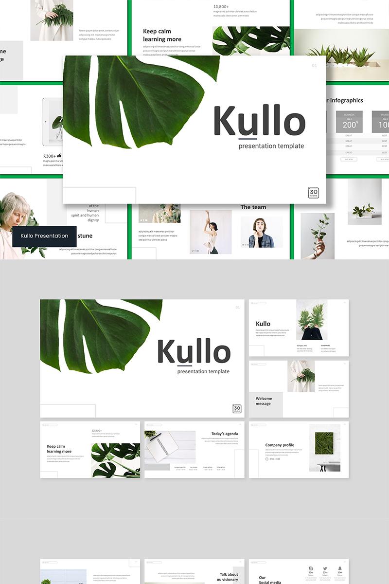 """Tema PowerPoint #89574 """"Kulo"""""""