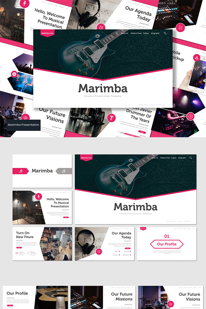 "Google Slides ""Marimba"" #89643"