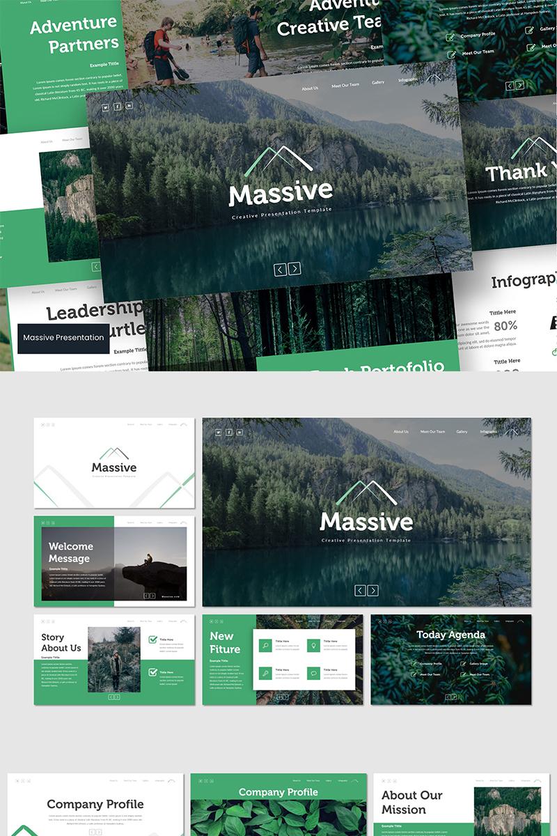"""Google Slides """"Massive"""" #89642"""