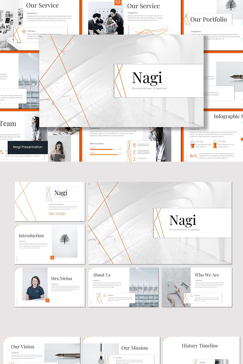 """Google Slides """"NAGI"""" #89640"""