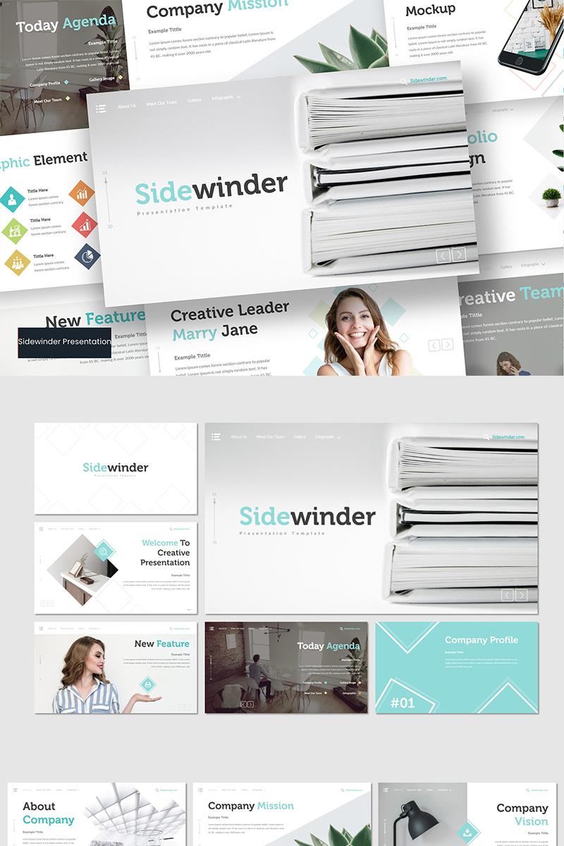 """Google Slides """"Sidewinder"""" #89633"""