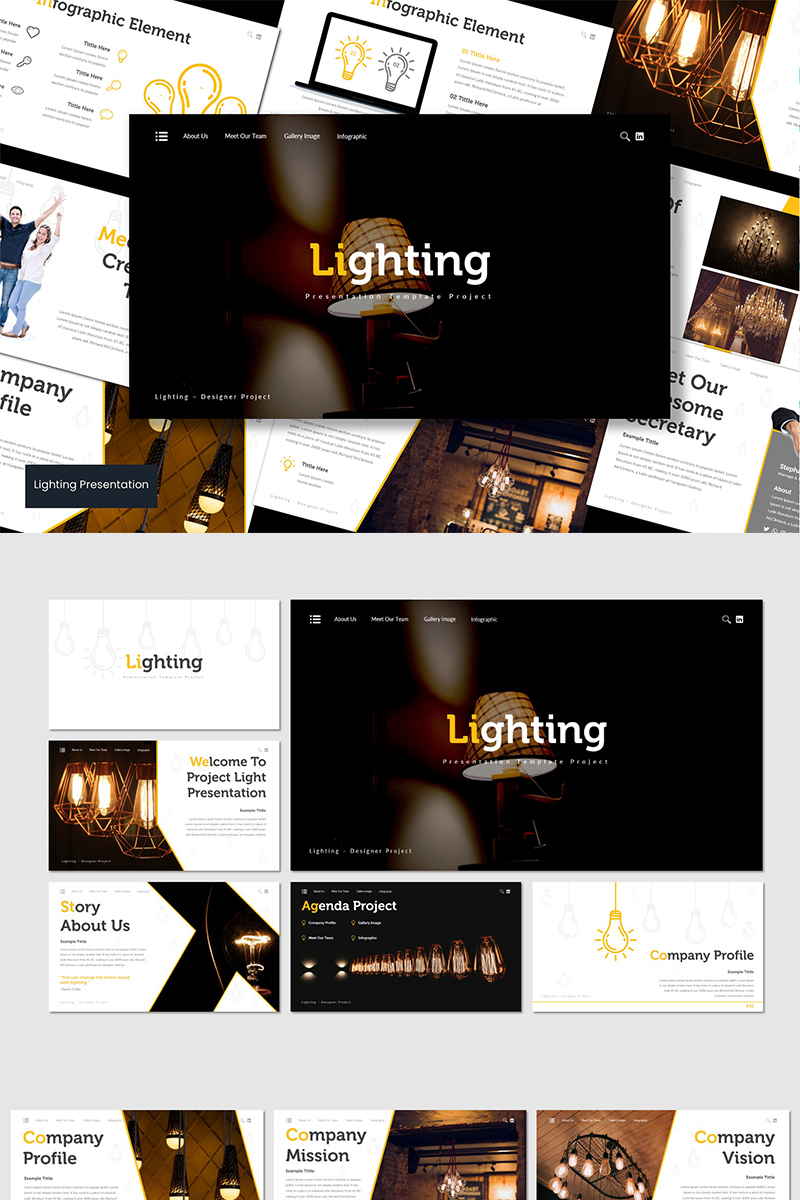 Lighting Google Slides - screenshot