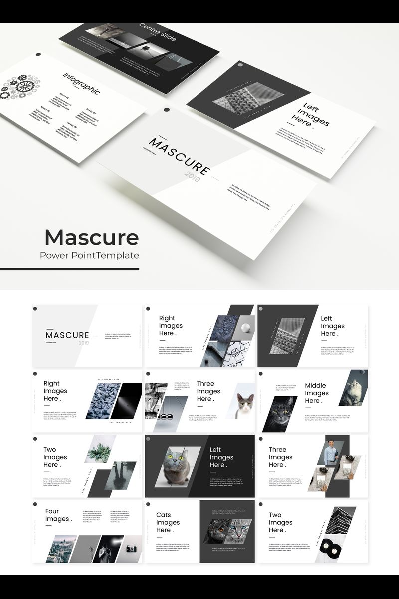 Mascure Template PowerPoint №89695