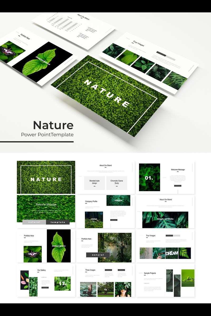 Nature Template PowerPoint №89693