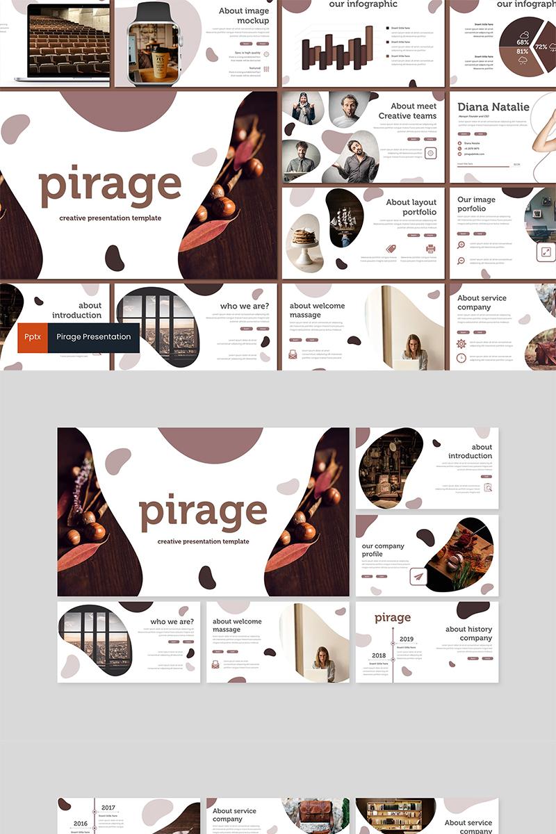 Pirage PowerPoint sablon 89608