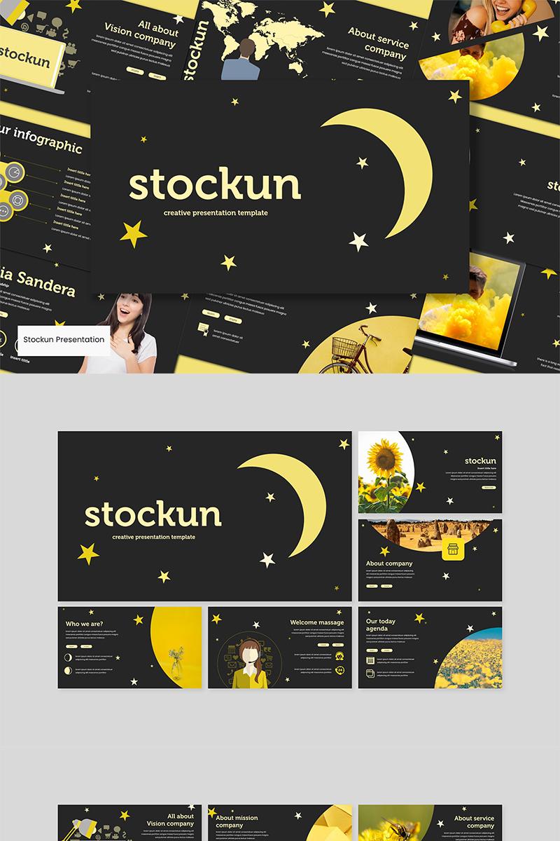 """PowerPoint Vorlage namens """"Stockun"""" #89606"""