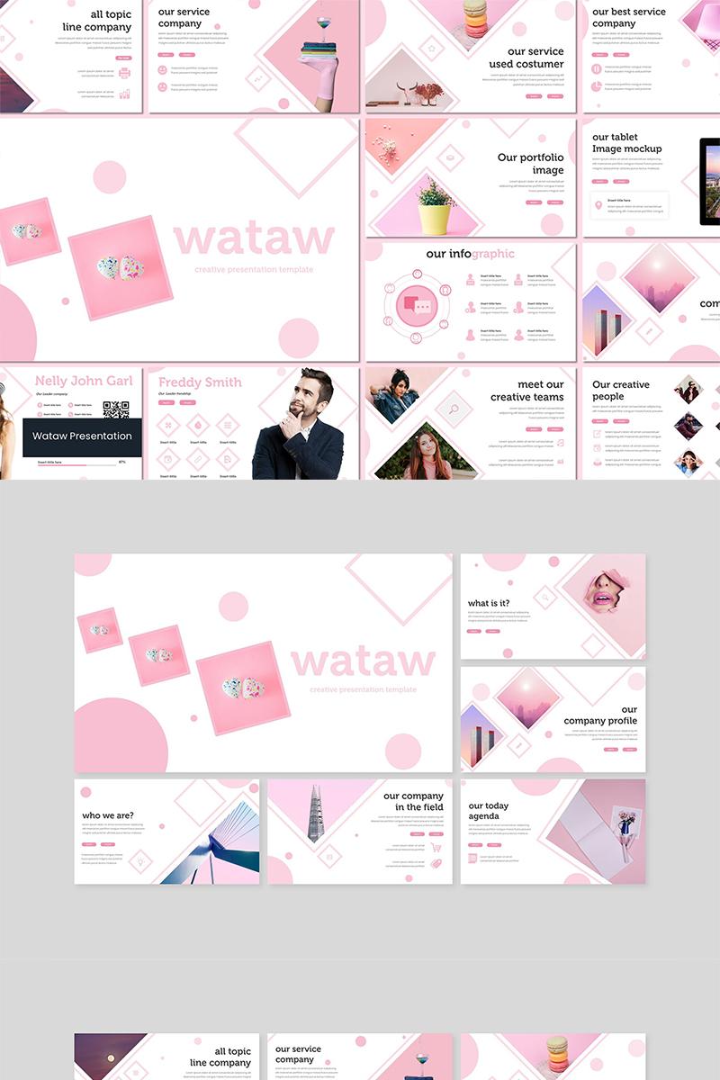 """PowerPoint Vorlage namens """"Wataw"""" #89600"""