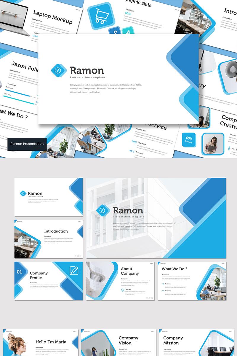 Ramon PowerPoint sablon 89609