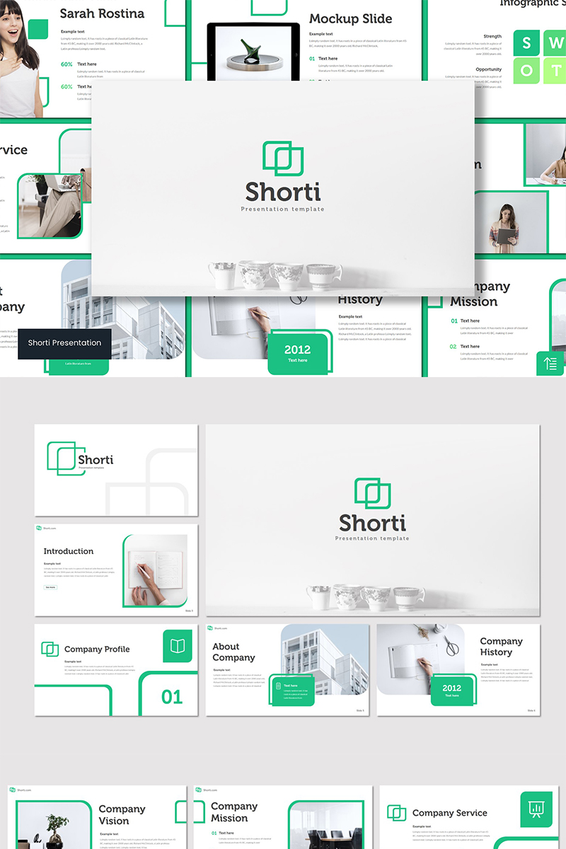 Shorti PowerPoint Template