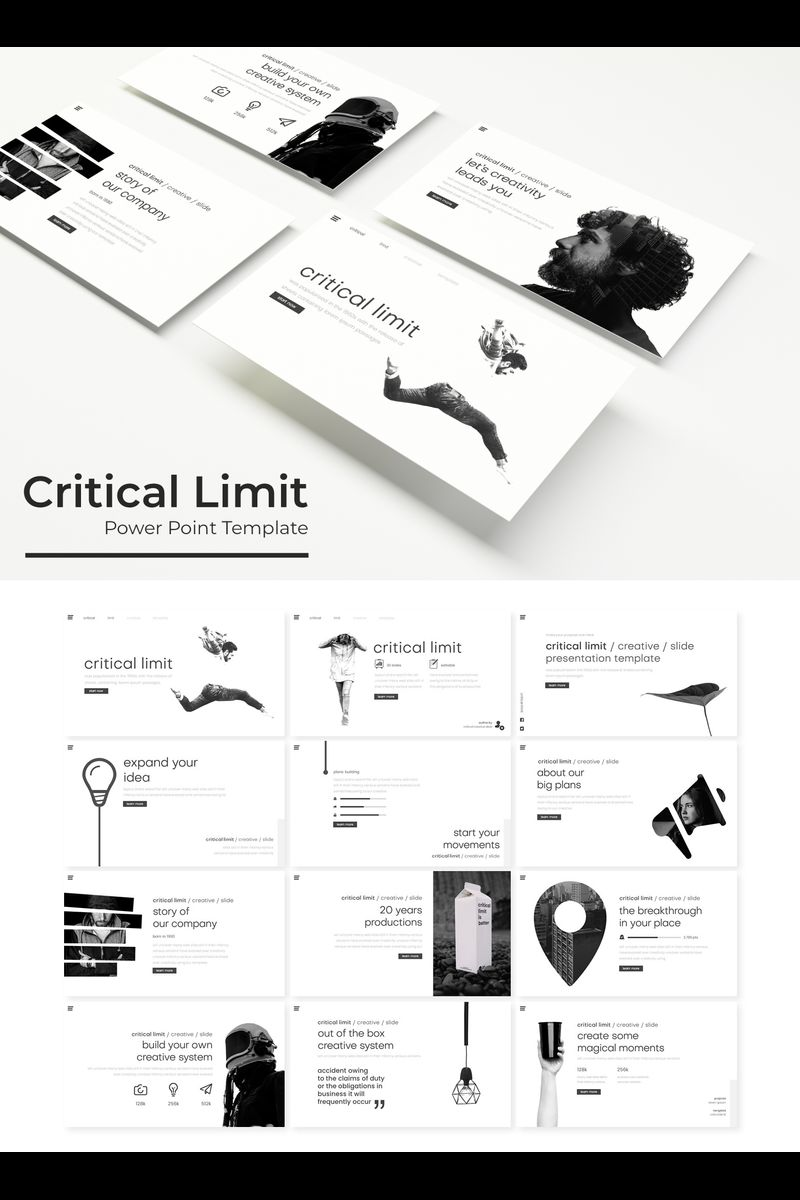 Critical limit PowerPoint Template