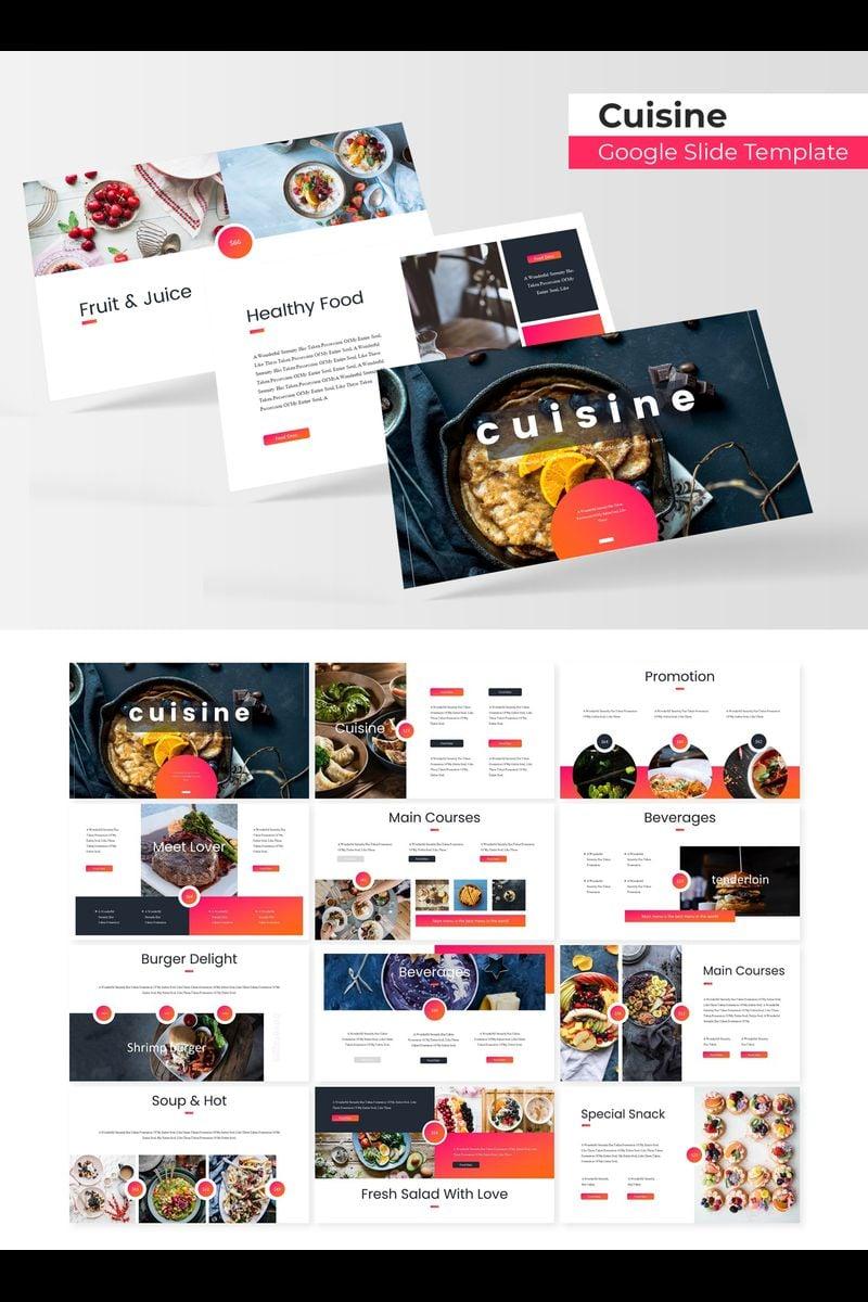 """""""Cuisine"""" Google Slides №89721"""