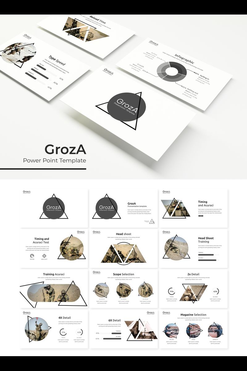 """GrozA"" PowerPoint Template №89799"