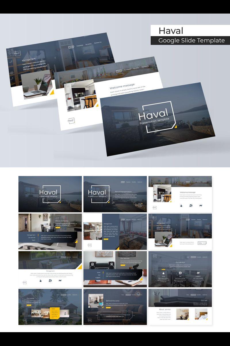 """""""Haval"""" Google Slides №89716"""