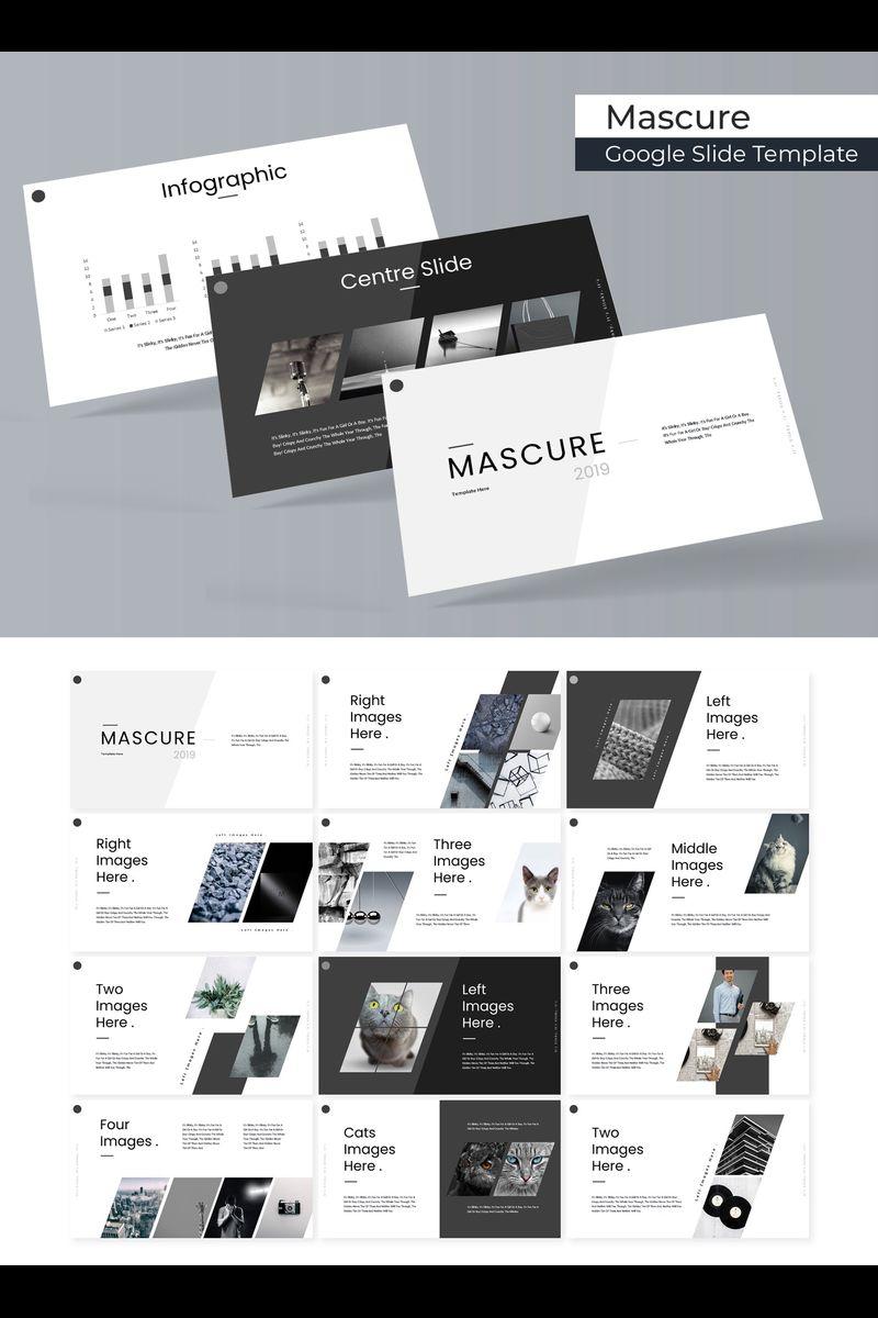 """Modello Google Slides #89714 """"Mascure"""""""