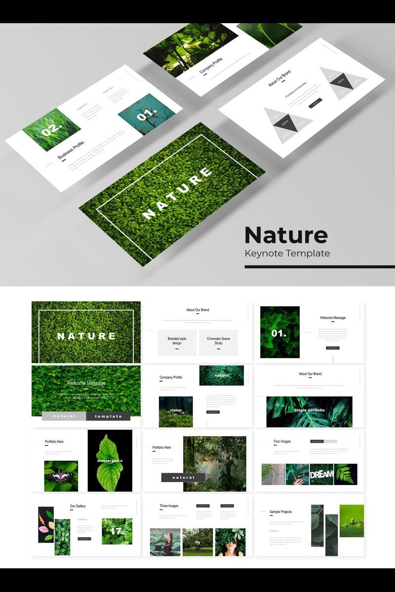 Szablon Keynote Nature #89752