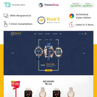 Купить  пофессиональные PrestaShop шаблоны. Купить шаблон #89831 и создать сайт.