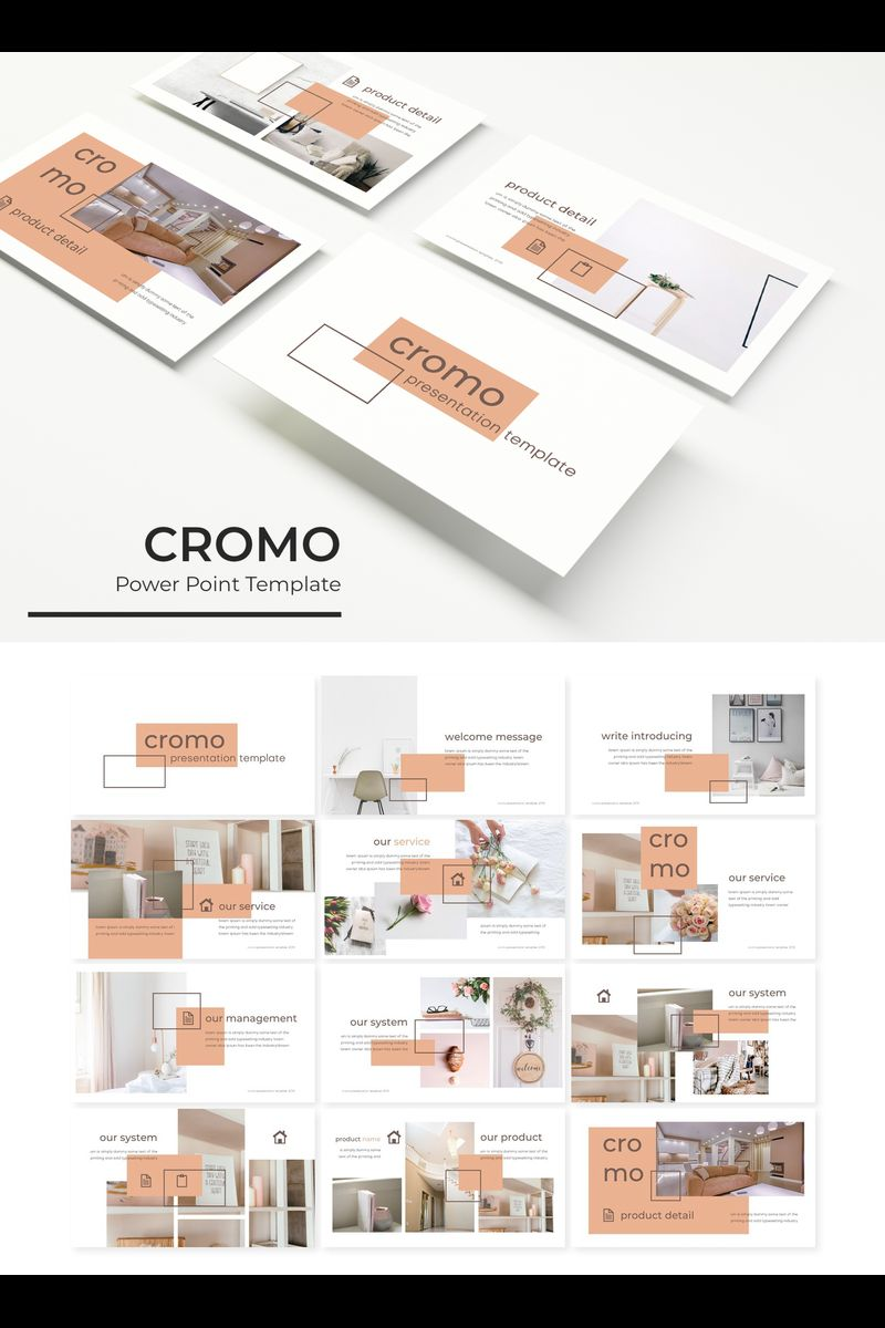 """Cromo"" PowerPoint Template №89800"