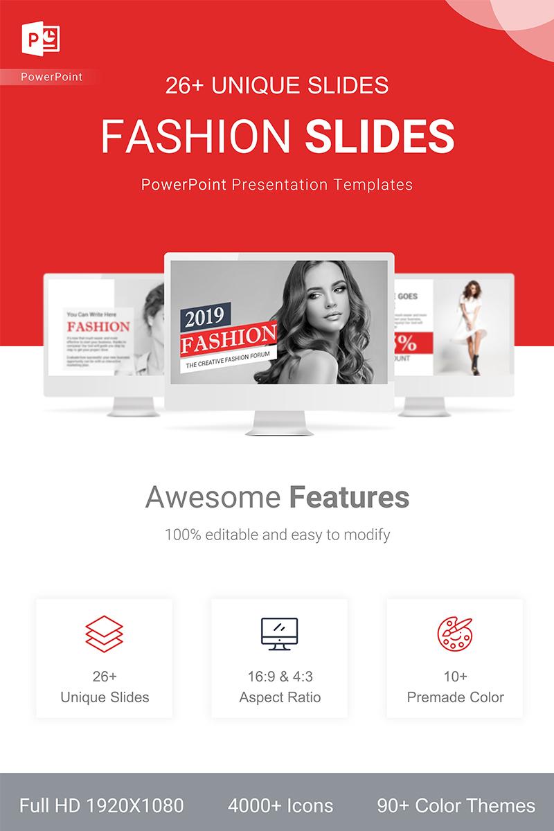 Fashion Presentation PowerPoint Template