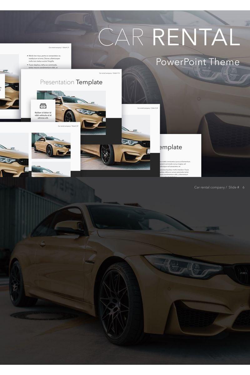 Car Rental PowerPoint Template