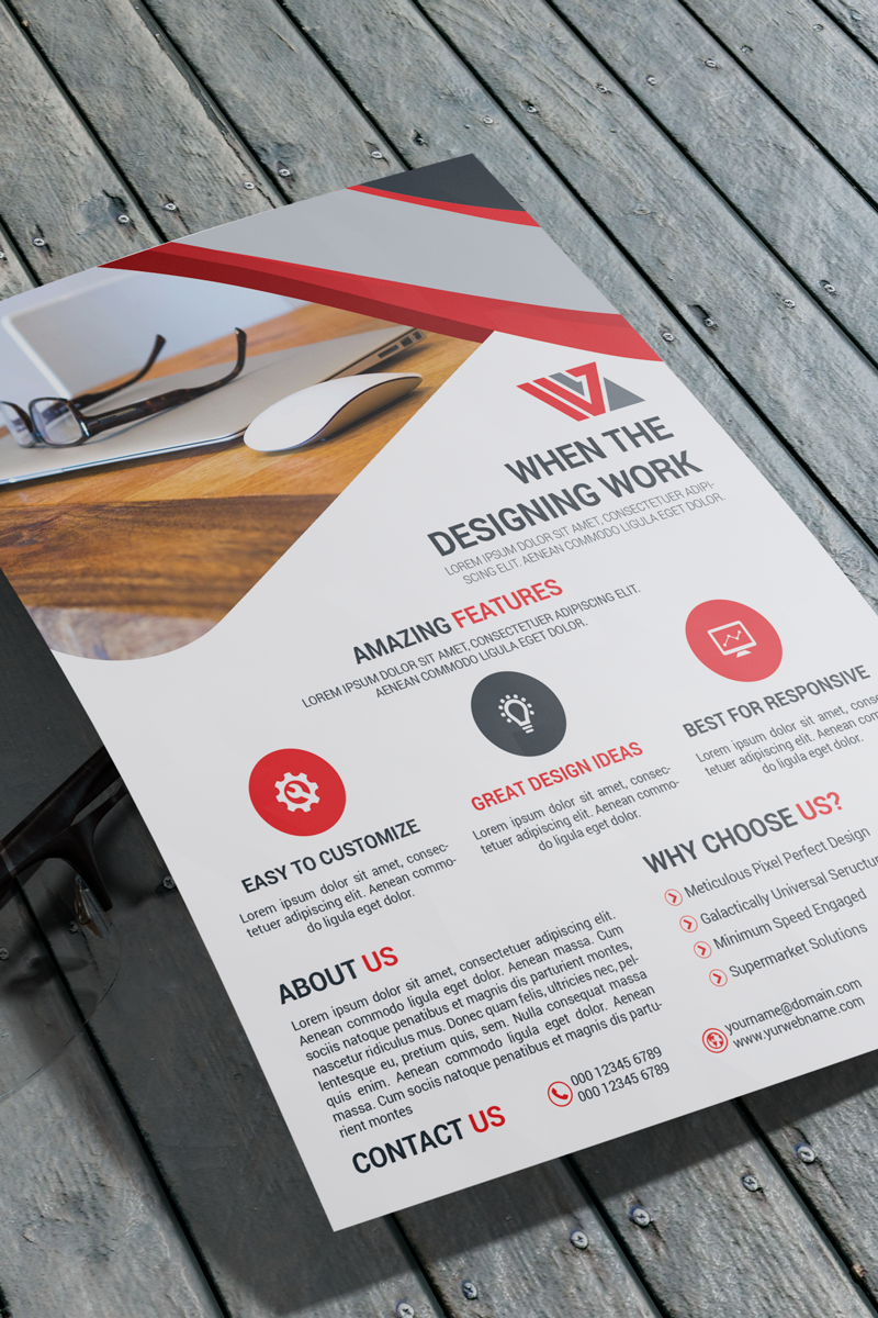 Business Flyer Corporate Identity Template - screenshot
