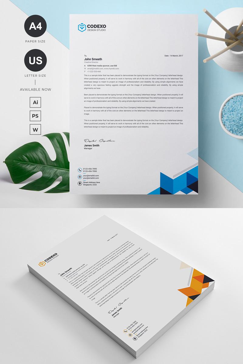 Codexo Letterhead Corporate Identity Template