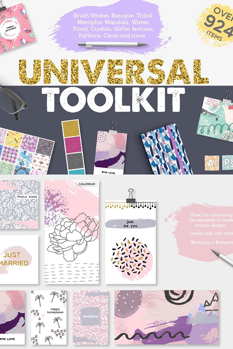 Ilustracja Universal Toolkit [ 924 items ] #90129